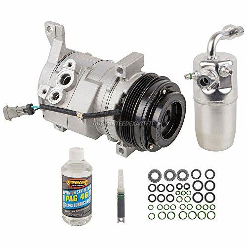 AC Compressor w/A/C Repair Kit For Chevy Suburban 1500 & GMC Yukon XL 2500 - BuyAutoParts 60-81242RK New