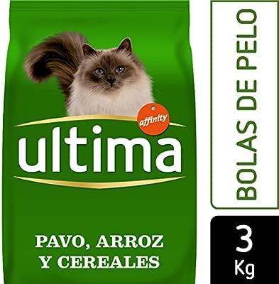 Ultima Pienso para Gatos Esterilizados Bolas de Pelo - 3 kg ...