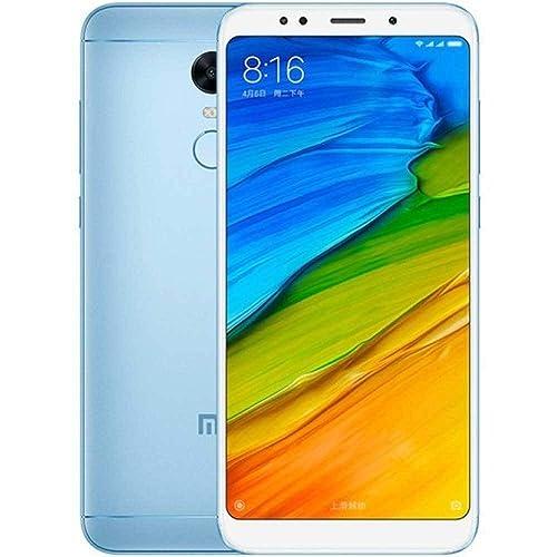 Xiaomi Redmi 5 Plus Telefono Movil Dual SIm 4 GB RAM 64 GB ROM Azul Versión Global
