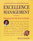Excellence in Management, Richard Conlow, 156052555X