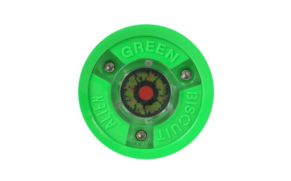 Green Biscuit Alien Puck