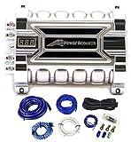 POWER ACOUSTIK 30 FARAD CAR DIGITAL CAPACITOR+WIRE KIT