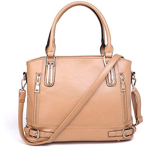 Messenger Blanc Bag à pour pour en Sacs Couleur Sumferkyh cuir Sac portable Beige femme ordinateur bandoulière qa6Bqfdw