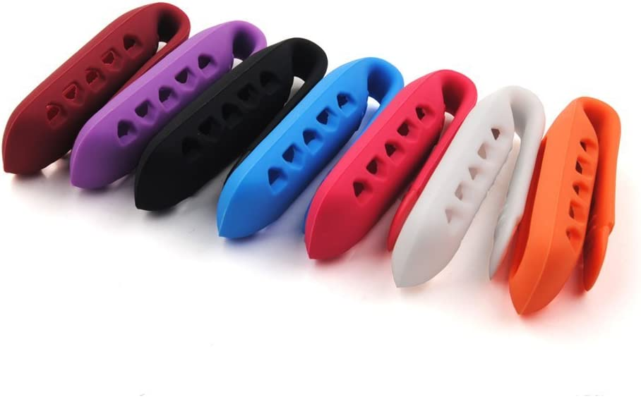 Silicone Replacement Wristband Clip Anti Slip Off Replacement Clip Holder fit for Fitbit One