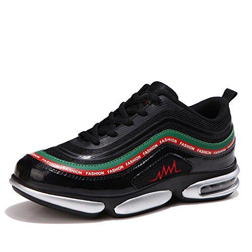 2018 Mens Sneaker Shoes, Scarpe da ginnastica da uomo Energy Breathable Afterburn Lace-Up Sneaker Silver