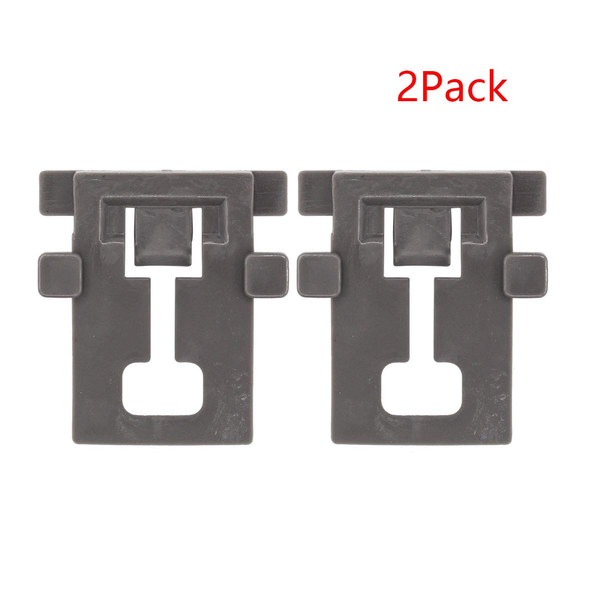 ApplianPar 2 Pack W10195840 Dishwasher Rack Adjuster Positioner Replacement for Whirlpool Kenmore Kitchenaid WPW10195840