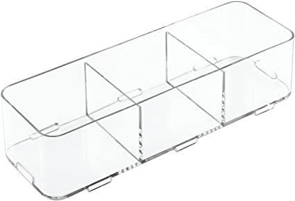 InterDesign Clarity Organizador apilable 30.40x30.00x5.00 cm