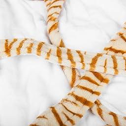 The Babymio Collection Robe, Jax the Tiger, 12 Months