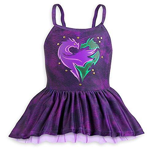 Disney-Descendants-Two-Piece-Swimsuit-For-Girls