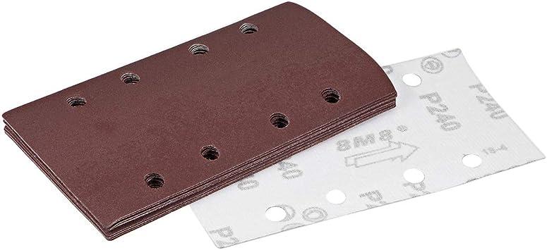 25pcs 1/'/' 25mm Sanding Discs 60-240 Grit Hook And Loop Sander Pads Sandpaper UK