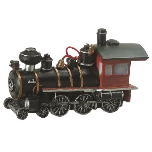 Holiday Train Ornaments (Locomotive Train Resin Hanging Ornament)