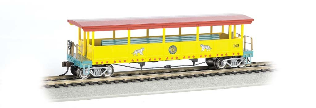 【SALE】 Bachmann Ringling (Ho Bros B00BFCXX4C。and Barnum & Car Bailey open-sided Excursion Car with # 142 Seats (Ho Scale) B00BFCXX4C, grove:3236bca0 --- a0267596.xsph.ru