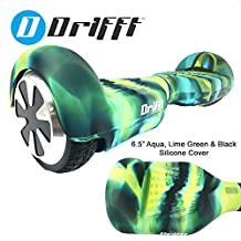 "Drifft 6.5"" Hoverboard Silicone Jelly Case Protective Cover for Classic Self Balance Scooter"