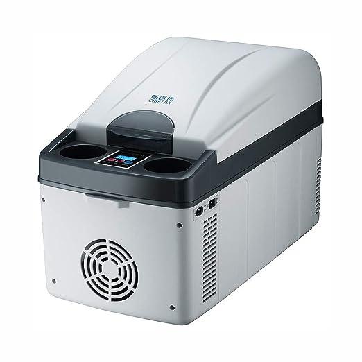 JWGG Congelador portatil 7.5L Mini frigorifico electrica Máquina ...