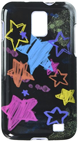 (MYBAT SAMI727HPCIM613NP Compact and Durable Protective Cover for Samsung Galaxy S2 Skyrocket - 1 Pack - Retail Packaging - Chalkboard Star Black)
