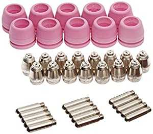 Lotos set of Nozzle Electrode and Cup 40-Piece PCON40 for Lotos LTP5000D LTP6000 LTPDC2000D LTPAC2500 from Lotos Technology