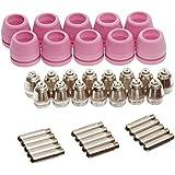 Lotos set of Nozzle Electrode and Cup 40-Piece PCON40 for Lotos LTP5000D LTP6000 LTPDC2000D LTPAC2500