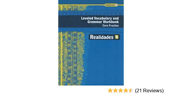 Realidades 2014 leveled vocabulary and grammar workbook level b realidades 2014 leveled vocabulary and grammar workbook level b prentice hall 9780133225709 amazon books fandeluxe Gallery