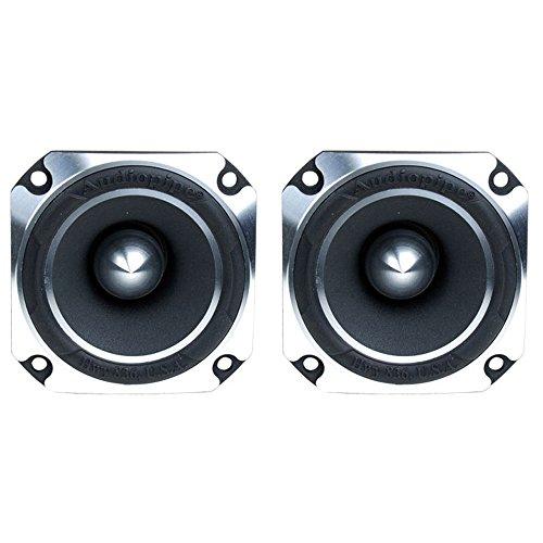 2) Audiopipe ATR-4061 2'' 1200W Titanium Super Car Pro Tweeters Heavy ATR4061 by Audiopipe