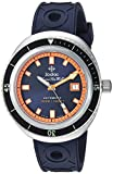 Zodiac Men's 'Super Sea Wolf 68' Swiss Automatic Stainless Steel and Rubber Casual Watch, Color:Blue (Model: ZO9504)