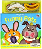 Magnetic Funny Pets-Board [With Magnets] (Magnetic Books)