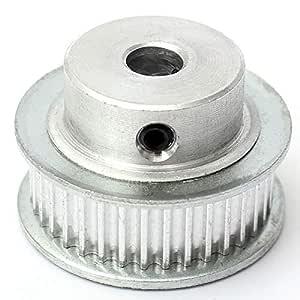 DIY Impresora 16/20 / 36T GT2 aluminio Polea for 3D Uso doméstico ...