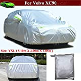 FS17050F5 Black Fleeced Satin Covercraft Custom Fit Car Cover for Select Volvo C30 Models