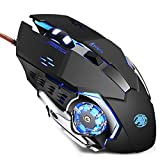 TENMOS K85 Wired Gaming Mouse Silent