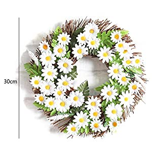 Heilsa DIY Christmas Wreath Ring for Door Wall Window Hanging Decoration Christmas Party Decoration 31