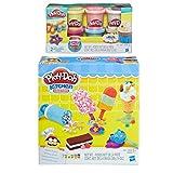 Play-Doh Kitchen Creations Frozen Treats Play Set + Play-Doh Confetti Compound Bundle
