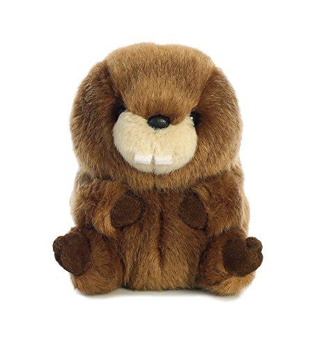 Bucky Beaver - Aurora World Rolly Pet Bucky Beaver Plush, 5