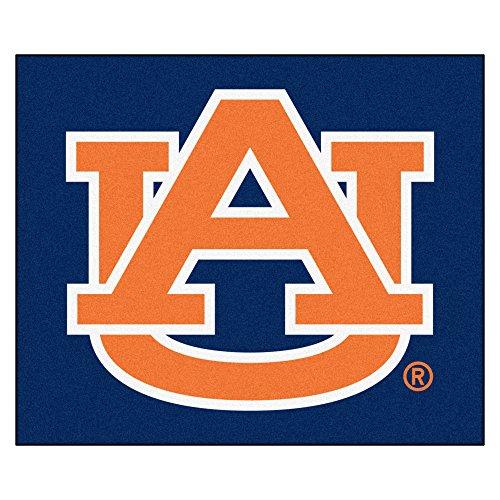 NCAA Auburn University Tigers Tailgater Mat Rectangular Outdoor Area Rug