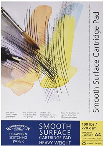 (Winsor & Newton Cartridge Paper Pads Smooth Surface Heavyweight - Gummed A4 2...)