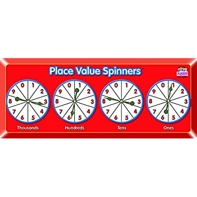 Kagan Cooperative Learning Spinner: Place Value, Teaching Material (MSPV)