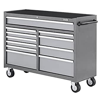 Amazon.com: MBI mwc52 – 11ssv 11-drawer móvil Workcenter ...