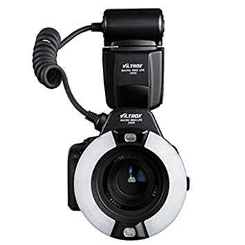Yunchenghe JY-670 LED Macro Ring luz de Flash para cámara réflex ...