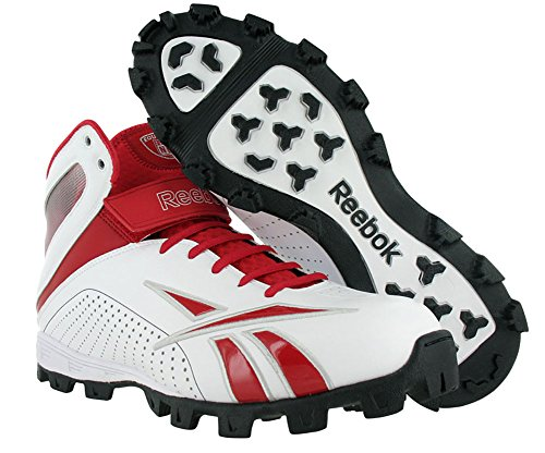Reebok Pro Workhorse Atf Mens Scarpe Da Calcio Bianco / Rosso