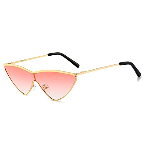Yangjing-hl Gradient Sunglasses Gafas de Sol Siamese Cat Eye ...