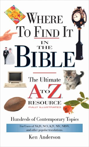 Where to Find It In The Bible (A to Z - Liquor Brothers Christian