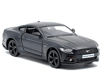 Rmz City 1 36 Scale Compatible With Ford Mustang 2015 Matte Black