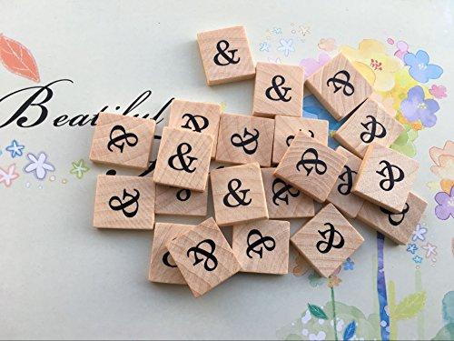 - Mrs.Ratfire's Fabulous Buys! (10) Beautiful Scrabble Letter Tile '&' Symbol, Scrabble for Crafts, Scrabble Game Piece Z, Hardwood , Ten (10) Scrabble Letter '&', A to Z Scrabble and Symbols