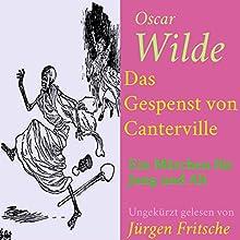 Das Gespenst von Canterville: Ein Märchen für Jung und Alt Hörbuch von Oscar Wilde Gesprochen von: Jürgen Fritsche