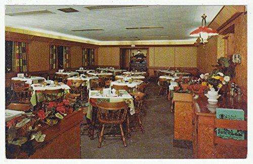 Dutch Town & Country Inn, Lancaster, Pennsylvania Vintage Original Postcard #1540 - (Country Vintage Inn)