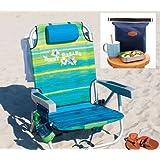 Tommy Bahama 2016 Beach Chair Bundle With De Reve Cooler Bag