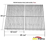 Hongso SCG528 (Aftermarket) BBQ Barbecue Replacement Stainless Steel Cooking Grill Grid Grate for Weber Genesis E and S series gas grills - Lowes Model Grills