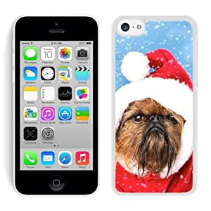 Recommend Design Iphone 5C TPU Case Christmas Dog White iPhone 5C Case 13 by lolosakes