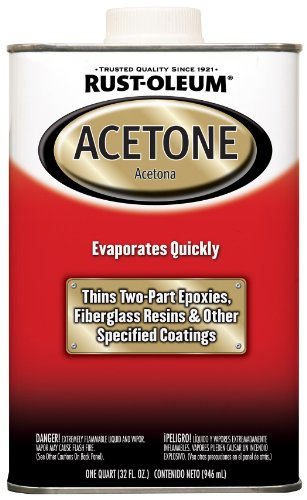 Rust Oleum Automotive 248667 32 Ounce Acetone