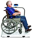 Heavy Duty Wheelchair Scale Platform White 1000 lb capacity by Salter Breck ....