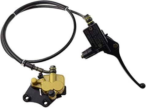 GOOFIT Rear Foot Disc Brake Master Cylinder Assembly for 50cc 70cc 90cc 110cc 125cc ATV Dirt Bike