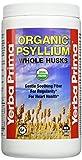 Yerba Prima Organic Psyllium Whole Husks Supplement, 12 Ounce
